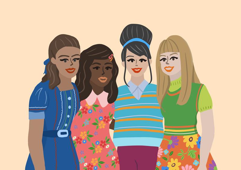 Girl Power ! Illustration