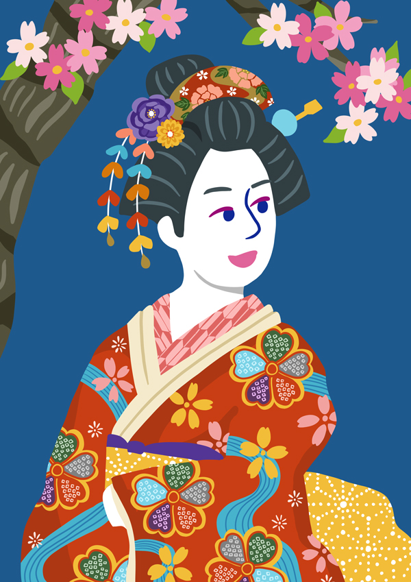illustration-traditional dress